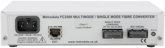 FC2500: Single mode to Multimode Fibre Converter
