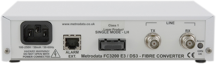 FC3200 - E3/DS3 to Singlemode Long Haul Fiber Extender