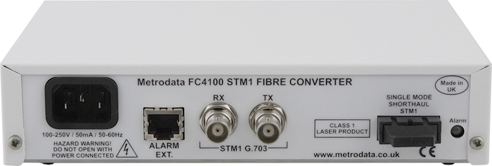 FC4100: STM-1/OC-3 to Singlemode Short Fiber Optic Converter