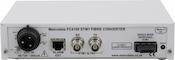 DC Rear: FC4000 STM-1/OC-3 BNC-Fiber Converter