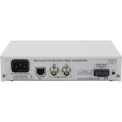 Rear: FC4000 STM-1/OC-3 BNC-Fiber Converter AC PSU