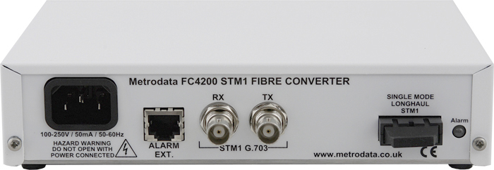 FC4200: STM-1/OC-3 to Singlemode Long Fibre Optic Converter