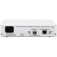 FC5000: 1000BaseT to 100BaseF/1000Base-X Converter