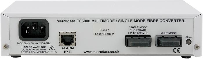 30km 622Mbps Singlemode to Multimode Fiber Converter