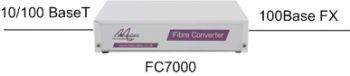 FC7000: 10/100BaseT to 100BaseFX Ethernet Converter