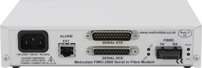 FIMO-2000: Serial to Singlemode Long Haul Fiber Optic Modem