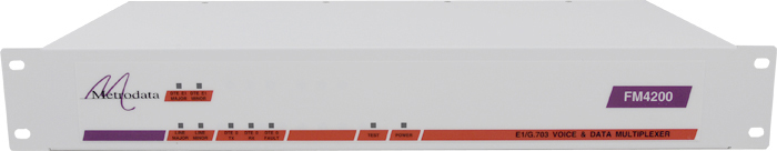 Front FM4200: Fractional E1 to E1 + X.21/V.35 Multiplexer