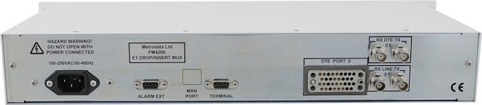 FM4200: E1 to E1 and X.21 / V.35 Multiplexer