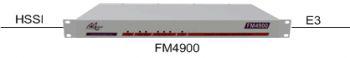 FM4900 as an E3 to HSSI Converter