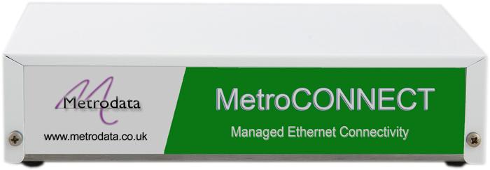 FCM5000 Managed Gigabit Ethernet Media Converter - Front