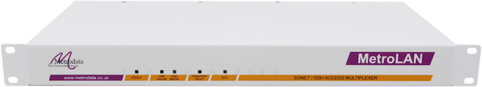 MetroLAN1000: Multiple Ethernet / E1 / T1 Fibre Multiplexer
