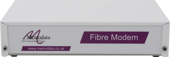 Front: FIMO-232 RS232 to Fibre Optic Modem