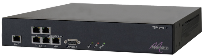 4 Port E1 TDM over IP: PacketLINK PL1400