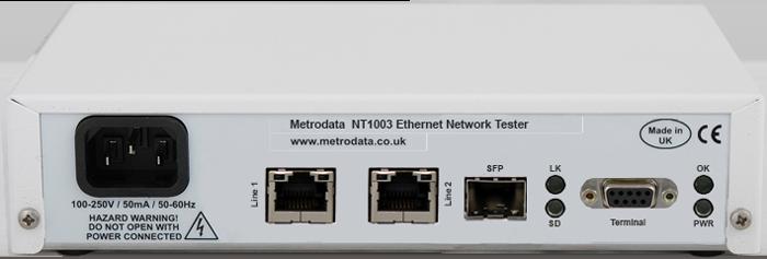 NetTESTER: NT1003