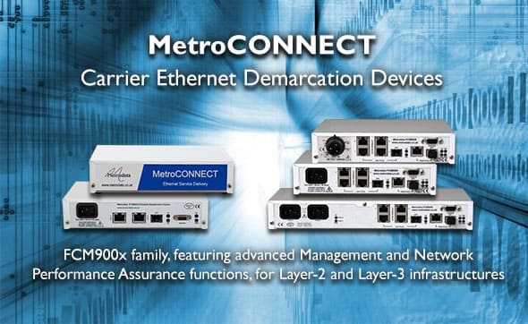 Carrier Ethernet Demarcation Devices