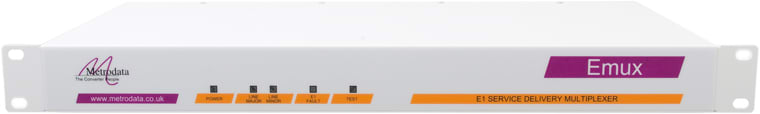 Front: Emux Multiplexer