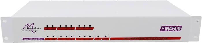 Front: FM4500 Fractional E1 G.703/G.704 to E1 + Multiple X.21/V.35 Multiplexer