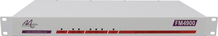Front: FM4900 E3 34.368Mbps G.703 to HSSI Converter