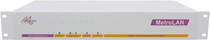 Front: MetroLAN2000 Multiple E1, E3, DS3 & Ethernet Services over Fiber
