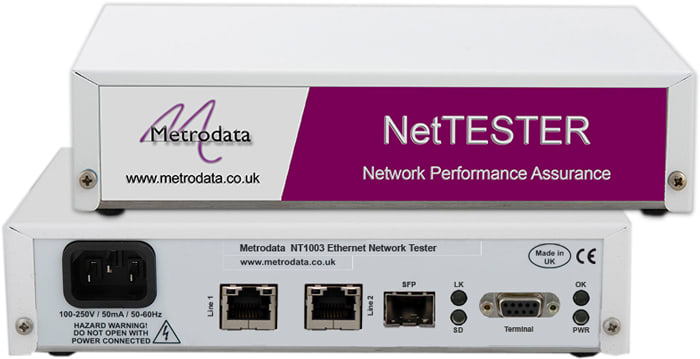 NT1003 Ethernet Network Performance Assurance