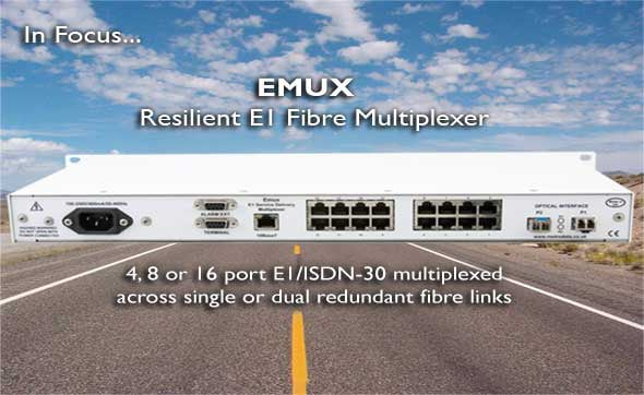Resilient E1 Fibre Multiplexer