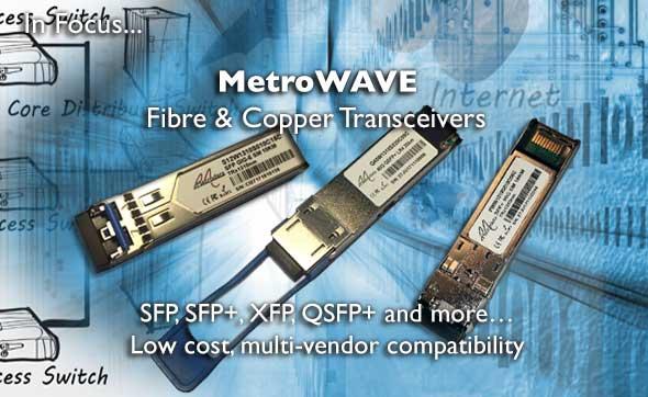 Fibre & Copper Transceivers