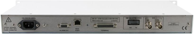Rear: ATM Switching DSU