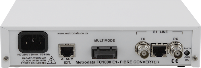 FC1000 - E1 to Multimode Converter