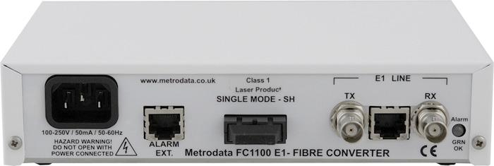 FC1100 - T1/E1 to Singlemode Short Haul