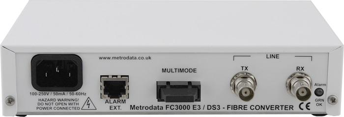 FC3000: E3/DS3 Multimode Fibre Extender