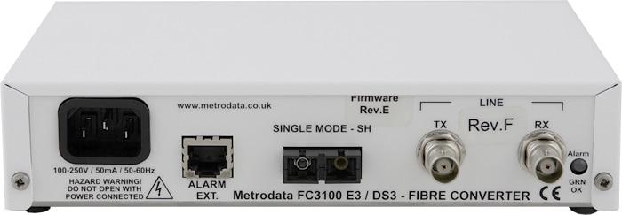 FC3100 - E3/DS3 to Singlemode Short Haul Fiber Extender