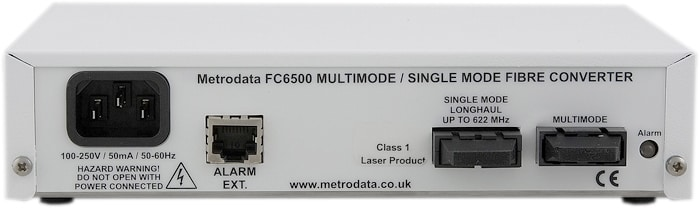 70km 622Mbps Singlemode to Multimode Fibre Converter: FC6500