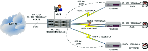 MetroConnect supporting multiple Ethernet Demarcation devices