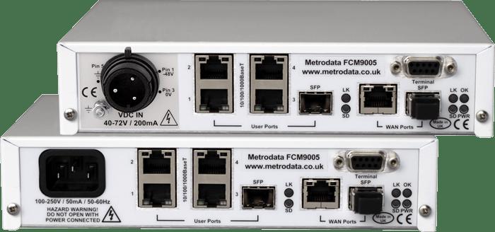FCM9005 Advanced Ethernet Demarcation Device - Rear