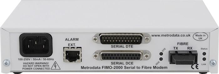 FIMO-2000: Serial to Singlemode Short Haul Fiber Optic Modem