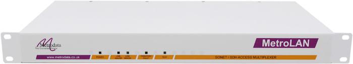 MetroLAN1000: Multiple Ethernet / E1 / T1 Fibre Multiplexer