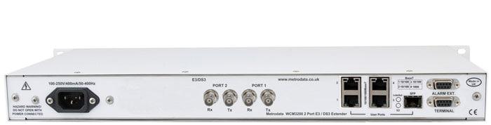 MetroCONNECT WCM3200: Ethernet Extender over 2x bonded E3 / DS3