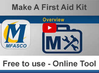 Make a custom first aid kit in seconds
