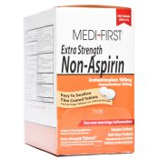 Medifirst Extra Strength Non Aspirin Tablet Packets