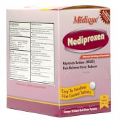 Medique Mediproxen Naproxen Pain Reliever Tablets 100/box
