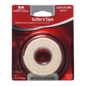 Golfers Blister Finger Tape White 1x5 Yrd