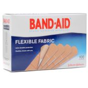 J & J Bandaid Brand Flexible Adhesive Bandages 3/4'' X 3'' 100/box