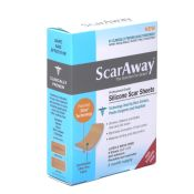 Scar Away Silicone Scar Sheets 1.5x3'' (8)
