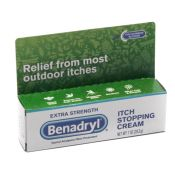 Benadryl Extra Strength Anti Itch Cream 1 Oz Tube
