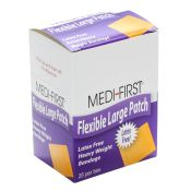 Medifirst Latex Free Extra Heavy Weight Cloth Patch Bandages 25/box
