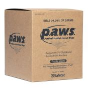 Paws Antimicrobial Disinfectant Hand Wipe 100/box