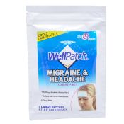 Migraine Cooling Headache Pads Wellpatch 4/box