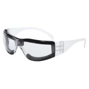 Safety Glasses With Foam Lining Pyramex Intruder #S4110STFP Clear