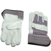 Leather Palm Work Gloves Large Size Dozen
