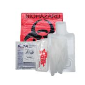 Biohazard Spill Clean Up Kit Chlorinated Red Z